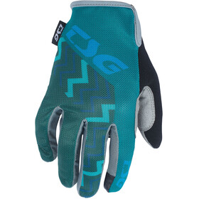 TSG Hunter Bike Gloves green/teal